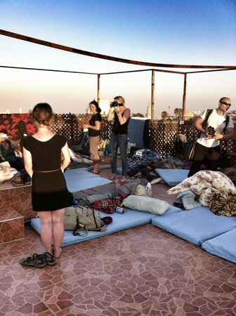 Citadel Youth Hostel : Sleeping On The Roof - A Recommended Memory With Great Views