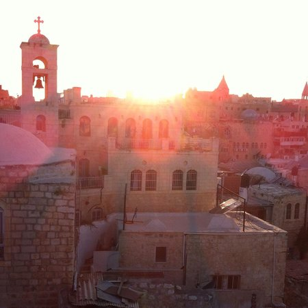 Citadel Youth Hostel : Sunset From Citadel Rooftop- Taken with iPhone