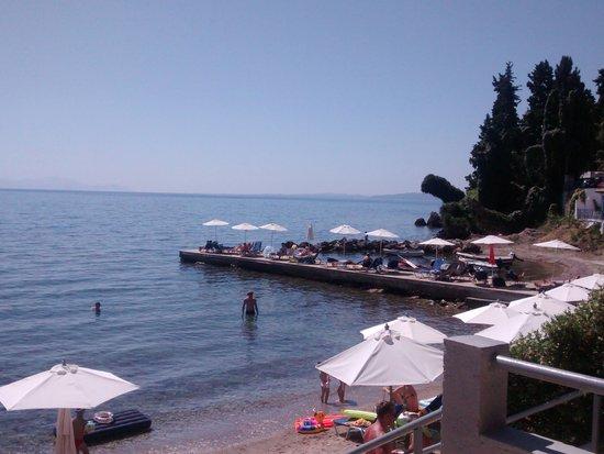 Aeolos Beach Resort: la plage