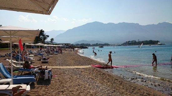 Club Med Kemer: grande plage