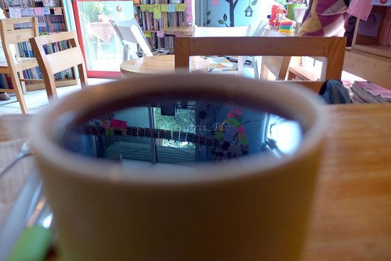 Sunday 2pm: Coffee Reflection literal and figurative