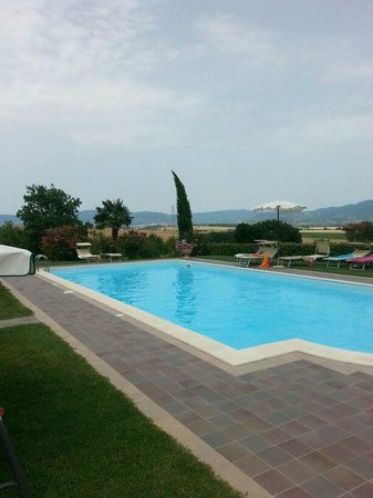 Agriturismo San Francesco : La bellissima piscina