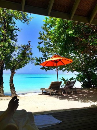LUX* South Ari Atoll: View from my villa