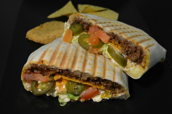 Taco Diner: Crunch wrap