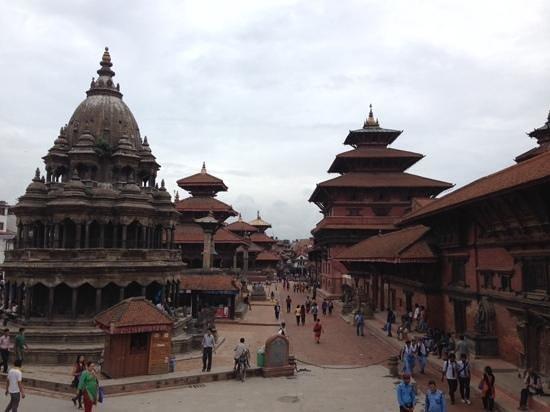 Place Durbar (centrale) à Patan : 広場①