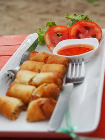 Coco Lanta Resort : Spring rolls