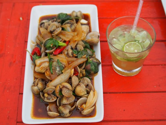 Coco Lanta Resort : Clams