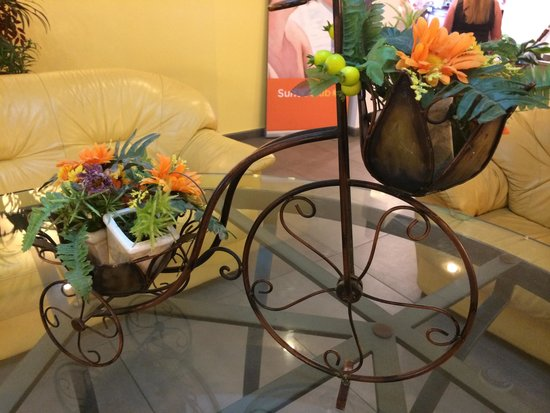 Aquis Park Hotel : Decoration in reception