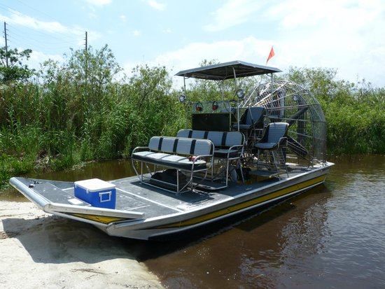 Airboat In Everglades : airboat