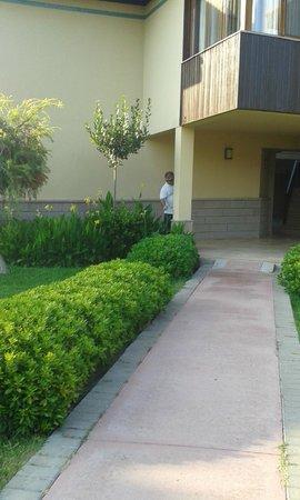 Felicia Village: villa girişi