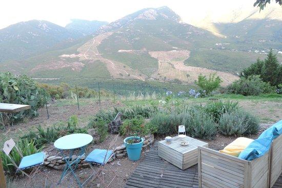 Mare e Legnu: La vue grandiose depuis notre terrasse privative