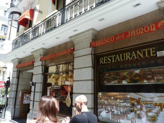 Museo del Jamon : strada