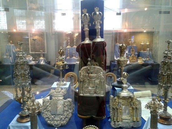 Great / Central Synagogue (Nagy Zsinagoga): Il tesoro