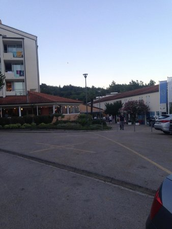 Miramar Hotel : ulaz u hotel