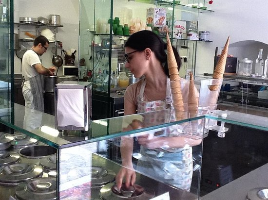 I vizi degli angeli laboratorio di gelateria artigianale : high design