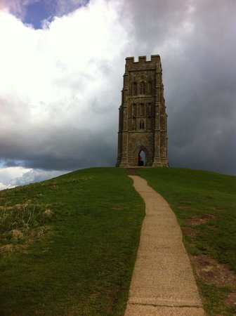 Glastonbury Tor: Almost there
