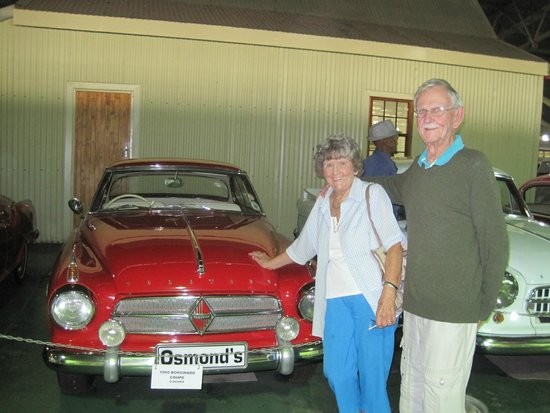 Outeniqua Transport Museum: Old cars on display