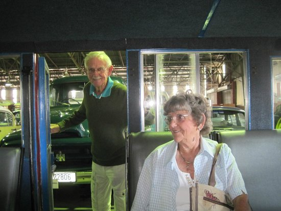 Outeniqua Transport Museum: Sitting in an old service engine