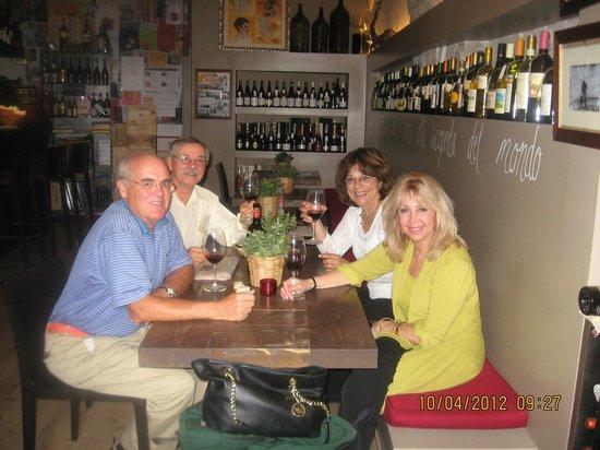BIBENDA ASSISI WINE BAR WINE TASTING