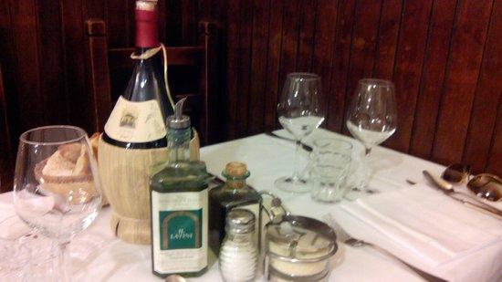 Restaurante Il Latini : tavolo