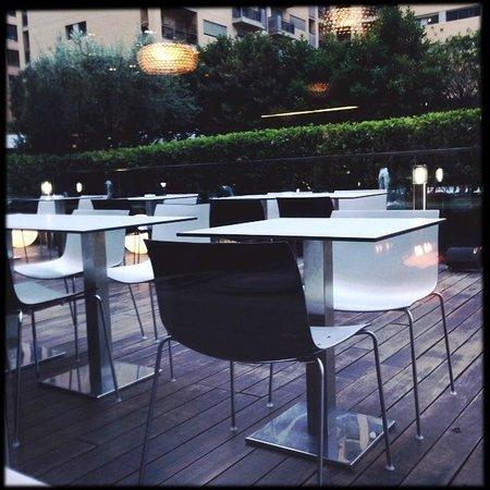 Primus Valencia: terrazza dove pranzare o cenare