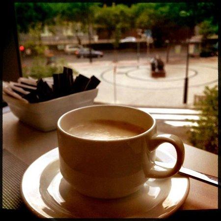 Primus Valencia: colazione con vista..al primo piano