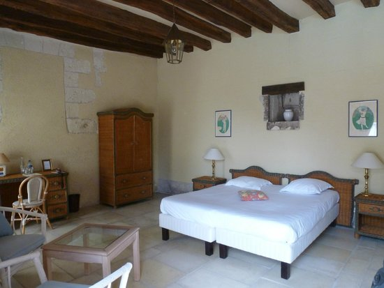 Chateau de Chissay : Double room in the chateau's park