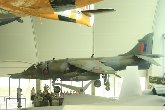 The Royal Air Force Museum London : Examples of planes on display