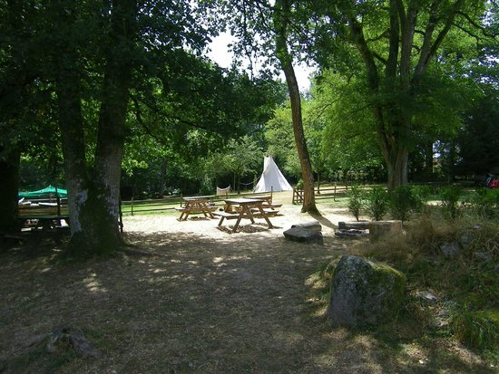 Ladapeyre, France : Recreation area