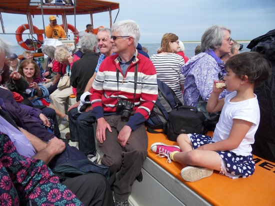 Beans Boat Trips: All aboard enjoying the trip