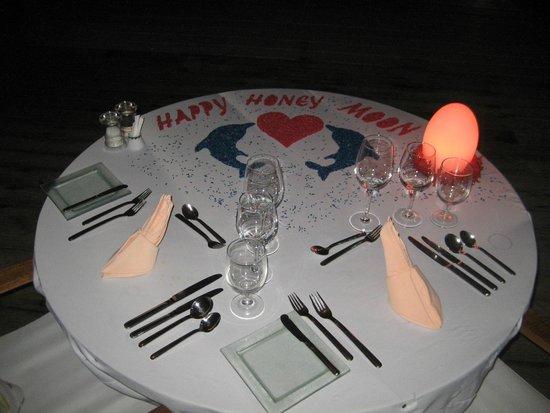 Kuramathi Island Resort: Private Dining