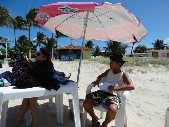 Pousada Vila Marinha: praia