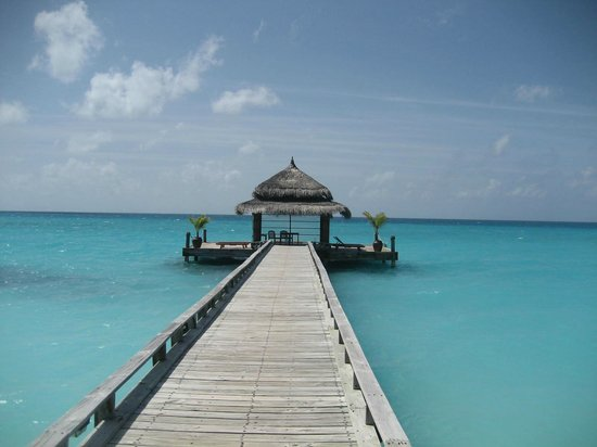 Kuramathi Island Resort : Jetty