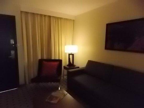Radisson Hotel Colorado Springs Airport : Chair and sleeper sofa