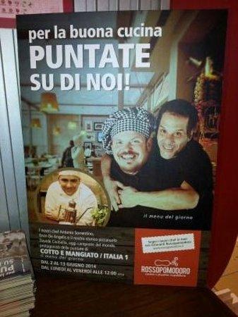 Rossopomodoro Quartucciu: Pubblicita sulle radio locali