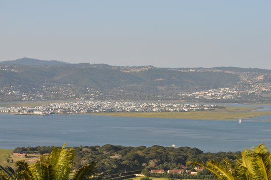 Brenton Hill Self Catering: The view from our patio!