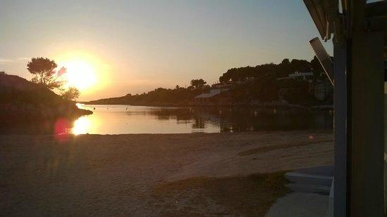 Santandria Playa Hotel: Sunset from the hotels beach side restaurant