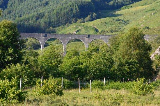 Glenfinnan Viaduct: From a distance