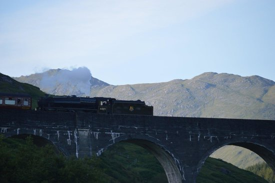 Glenfinnan Viaduct: The Jacobite