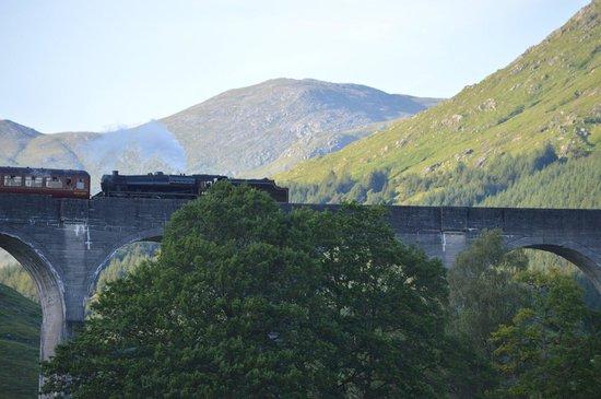 Glenfinnan Viaduct: Crossing the Viaduct