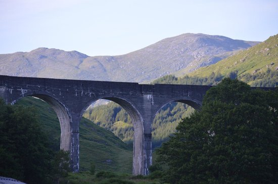 Glenfinnan Viaduct: And then it was gone
