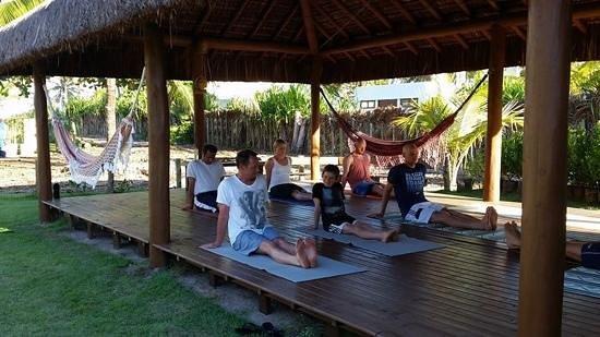 yoga at bahia surf camp