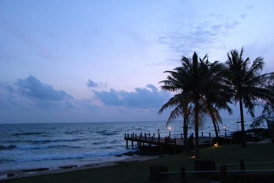 Chen Sea Resort & Spa Phu Quoc : Evening sky