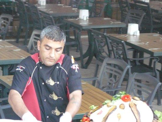 Sumela Garden Hotel: Шеф-повар