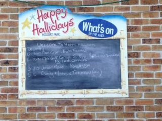 Secura Lifestyle Happy Hallidays : Daily activities board