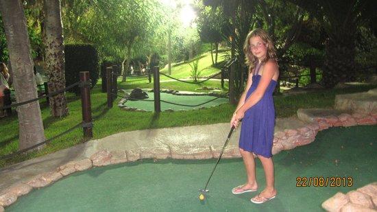 Golf Fantasia: вечером
