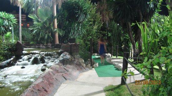 Golf Fantasia: подсветка