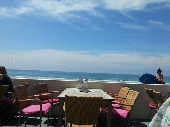 El Tico Beach Cantina: View from the terrace of El Tico