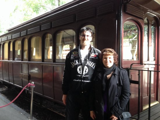 Puffing Billy Railway: Puffing Billy Luncheon Train, a beautiful meal, friendly staff & great service.