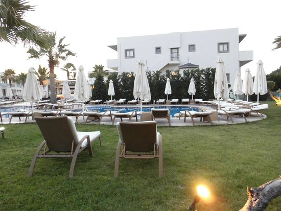 The Lesante Luxury Hotel & Spa : Hotel con vista piscina